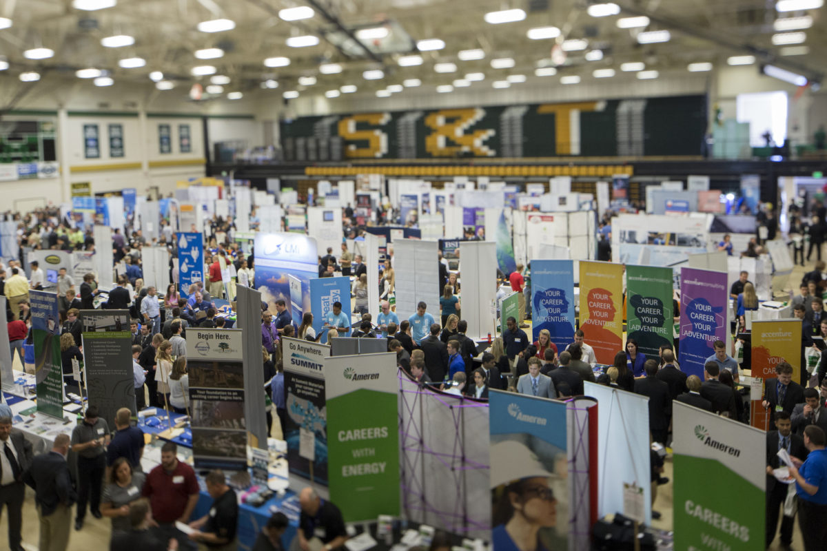 Career Fair at S&T