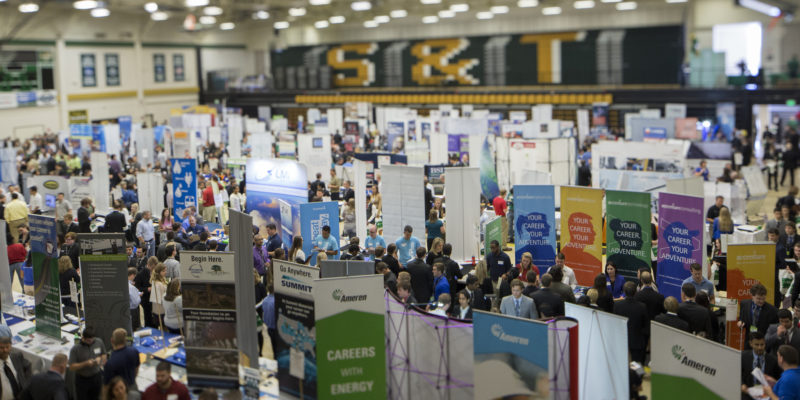 Volunteer slots still available for Career Fair