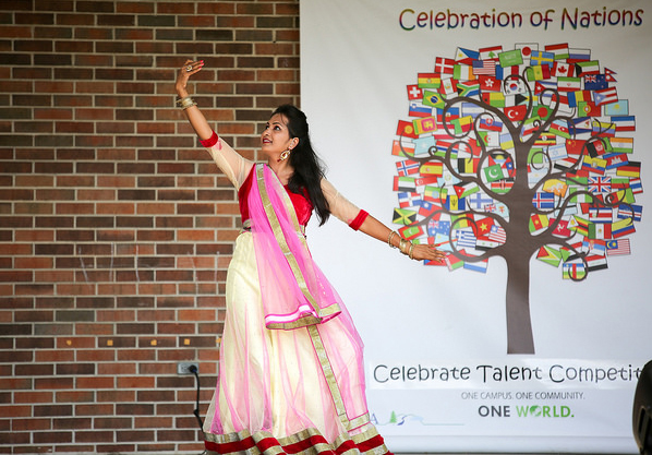 Contestant in the 2016 Celebrate Talent event