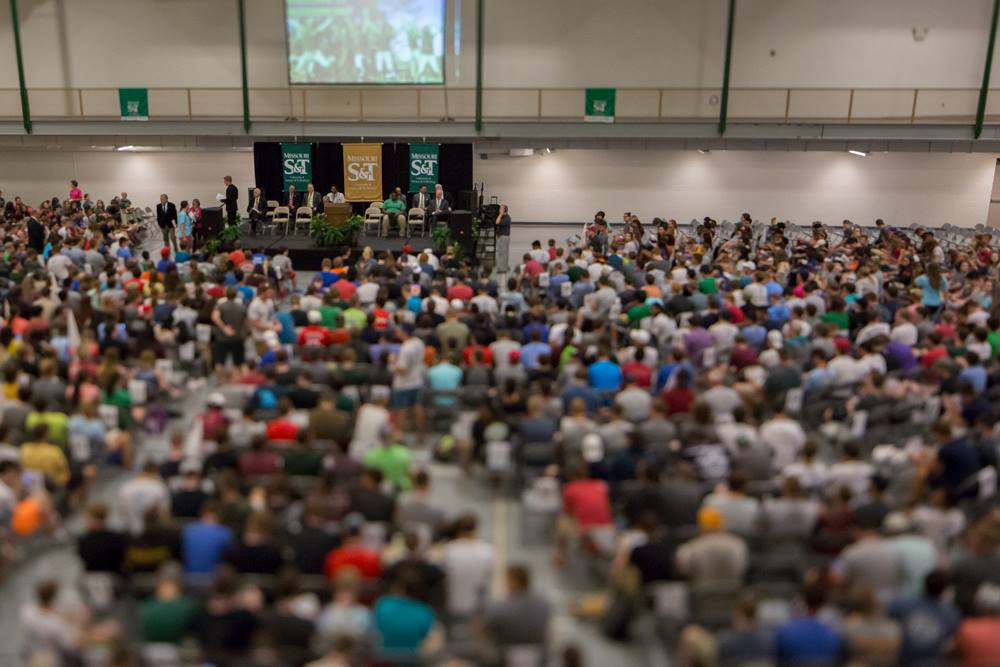 Audience at 2017 convocation