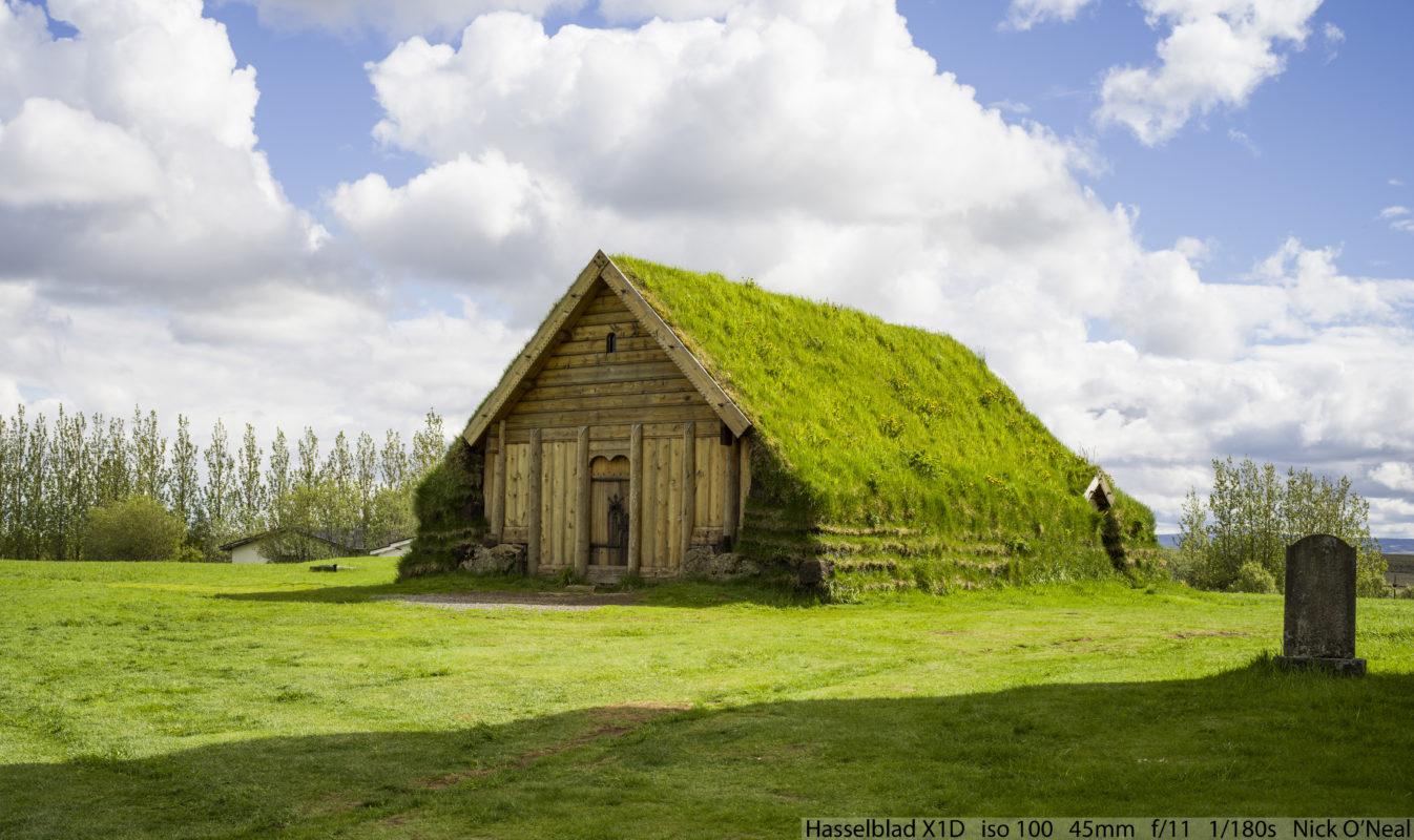 House in Blaakogabyggdt, Iceland