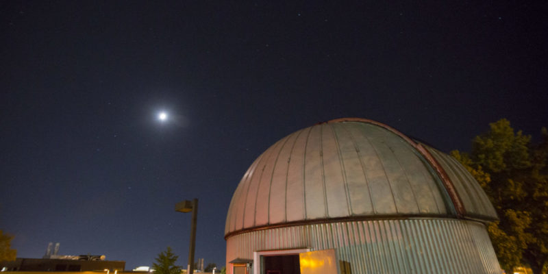 View wonders of the universe at observatory