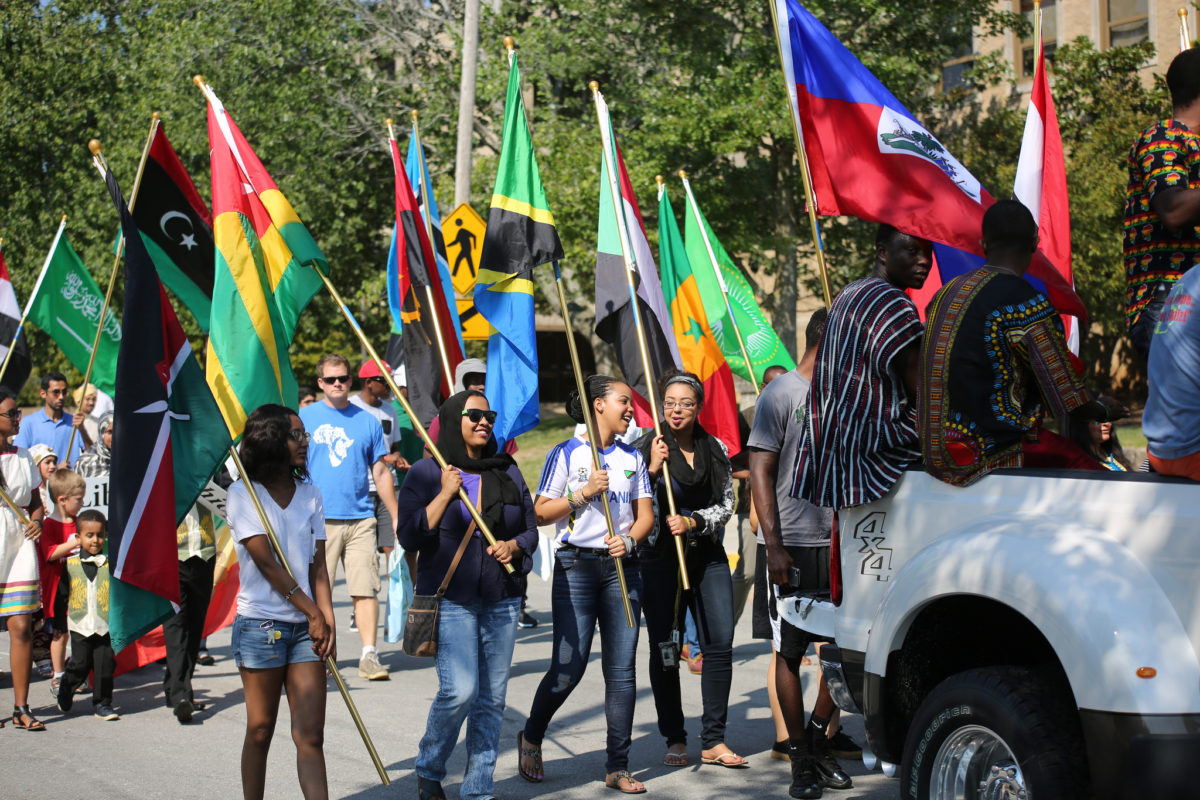 Celebrations of Nations parade in 2016
