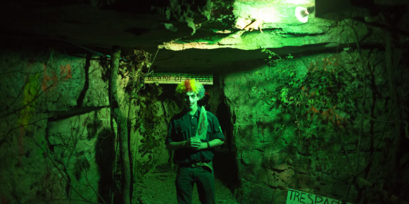 Who's afraid of the Haunted Mine?