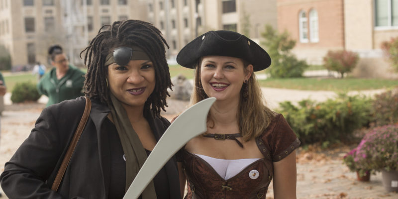 Scare up some fun at staff event on Halloween