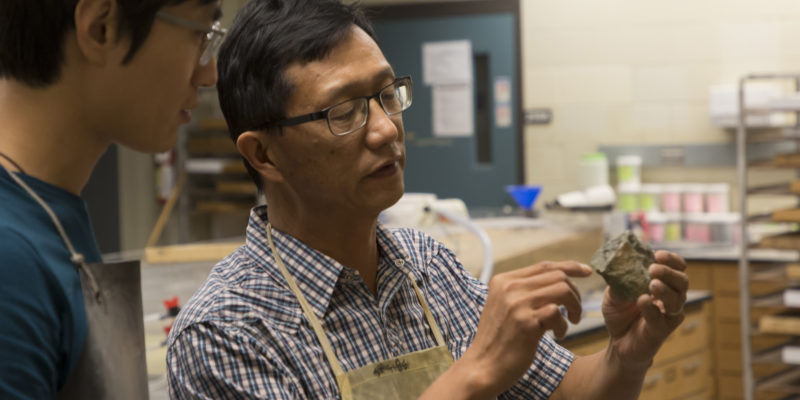 Geologist leads $2.1 million NSF project