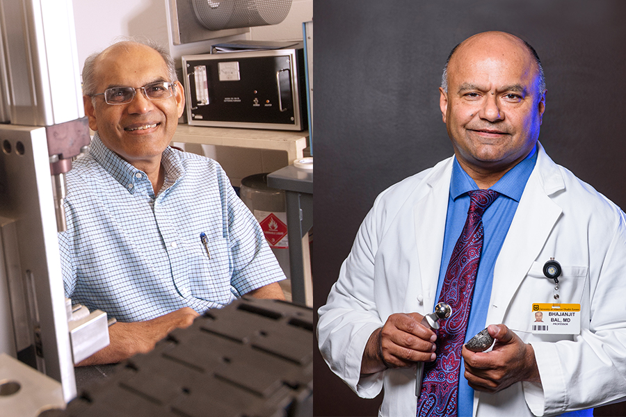 Mohamed Rahaman and Sonny Bal