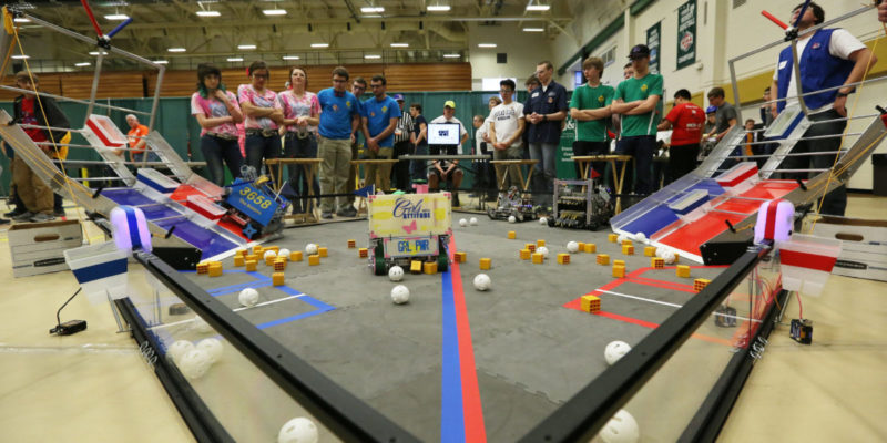 Volunteers needed for FIRST robotics competition