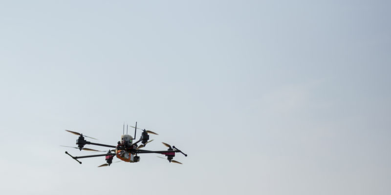 Learn about using drones to inspect infrastructure