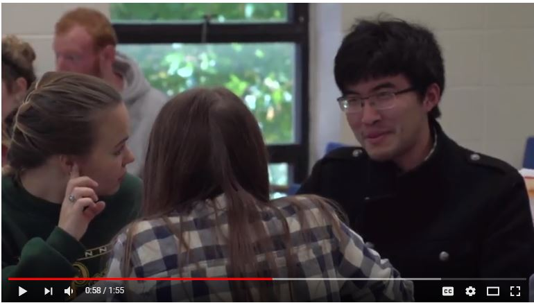 Screenshot of active learning video
