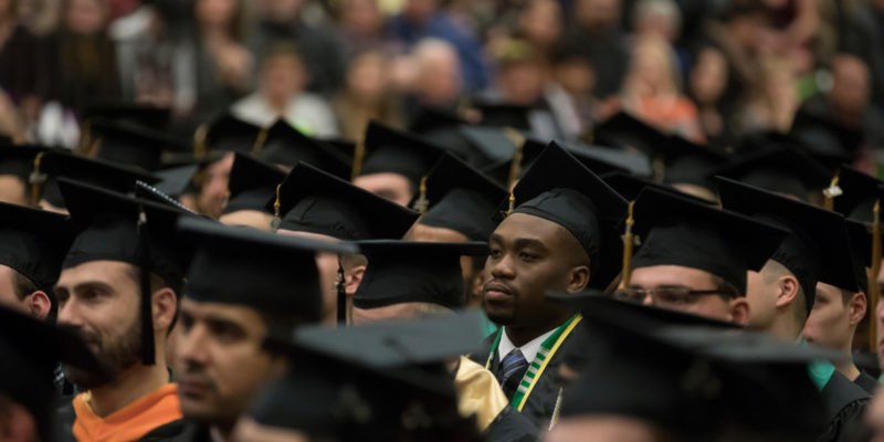 Volunteer as an usher for spring commencement