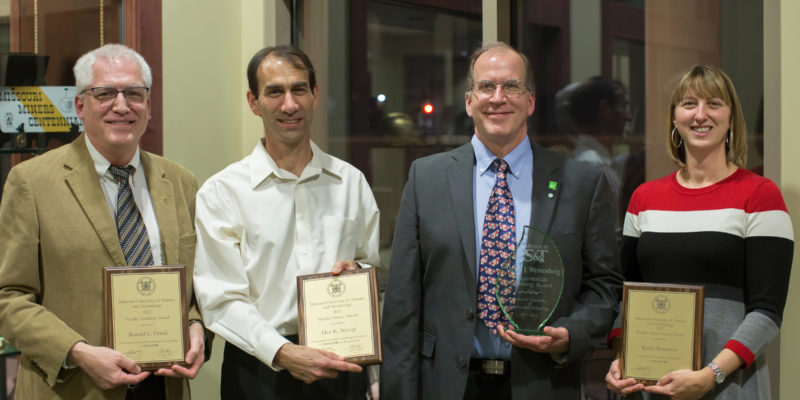 27 faculty honored for excellence