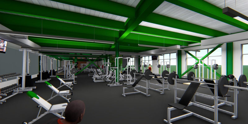 Students to break ground April 12 for fitness center expansion