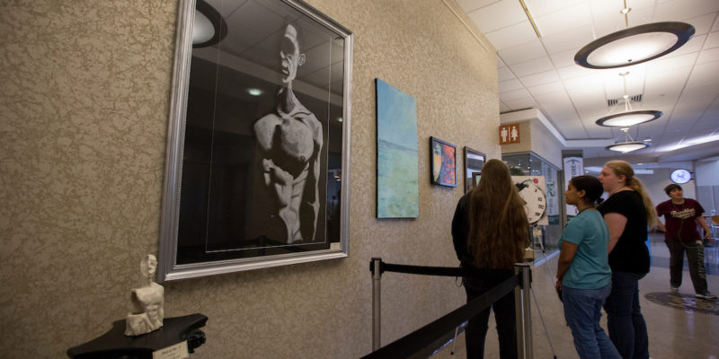 Check out student art, vote for 'best of show'