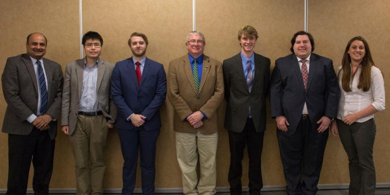 Graduate students garner research awards