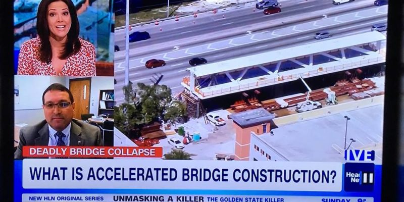 Myers' expertise sought following bridge collapse
