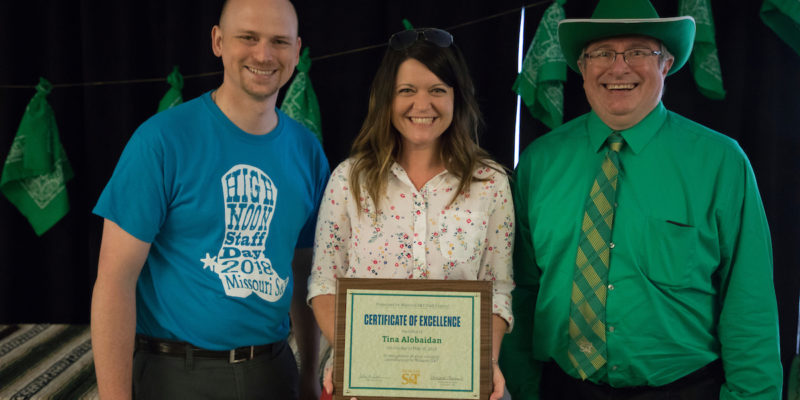 Nine honored at S&T Staff Excellence Awards ceremony