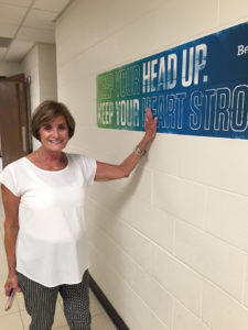 Cheryl Lillie, assistant teaching professor, suggested the idea for the signs.