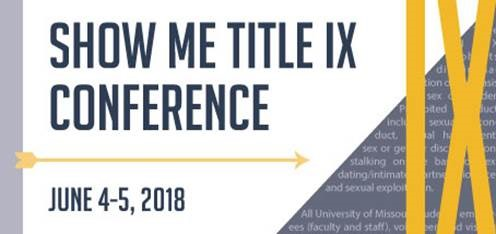 Today is registration deadline for Title IX conference