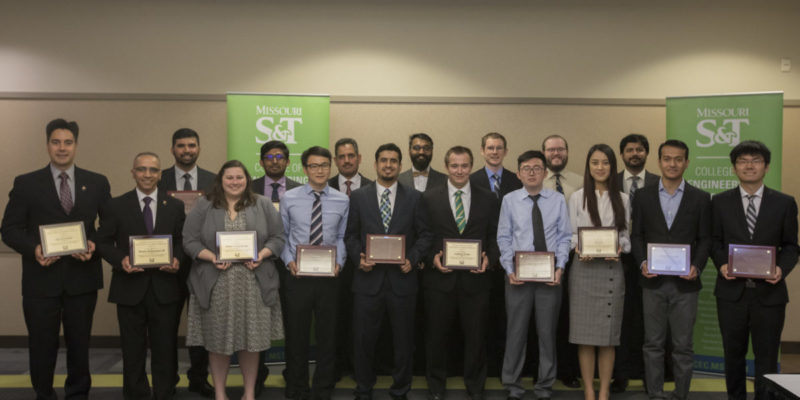 CEC honors 18 graduate students