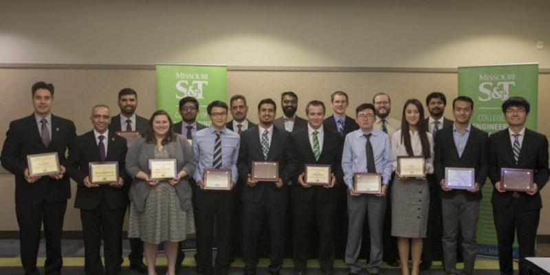 CEC honors 18 graduate students