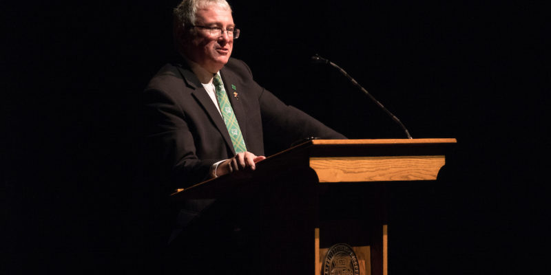 Maples to deliver State of the University address Oct. 3