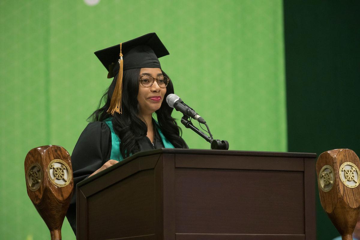 Student commencement speaker