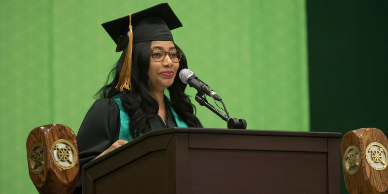 Apply to speak at your commencement ceremony
