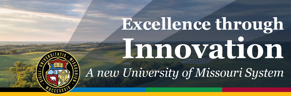 """Banner, """"Excellence Through Innovation"""""""