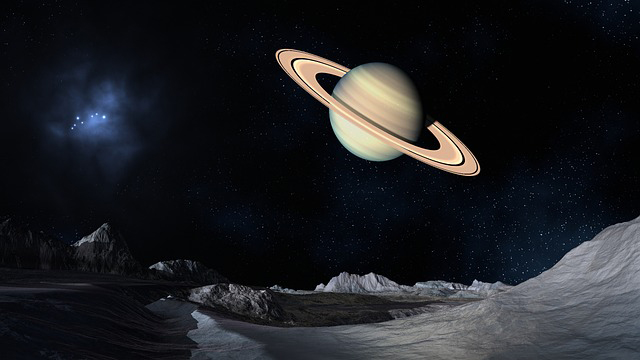 Stock image of Saturn