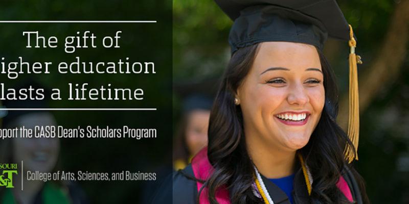 CASB Dean's Scholars Program will help students in need
