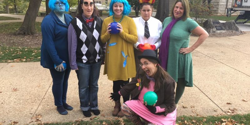 Enter to win prizes at staff celebration, sign up for costume contest