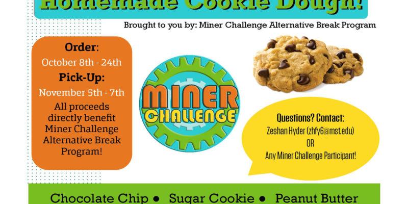 Help Miner Challenge raise dough