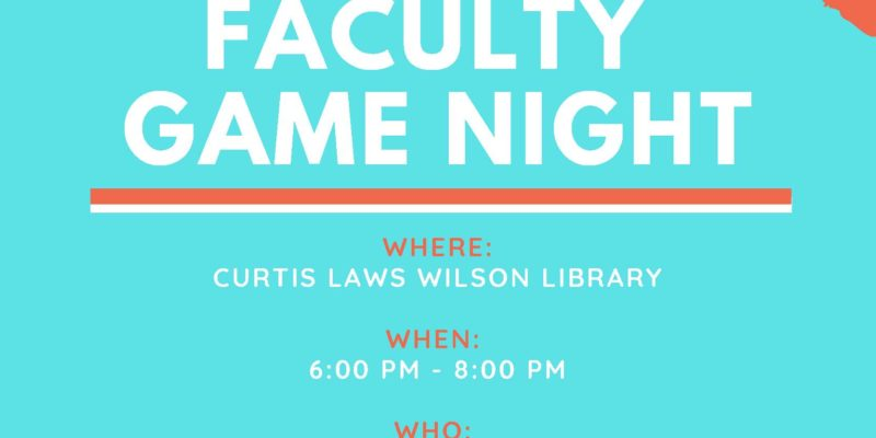 Faculty game night
