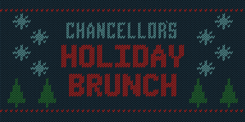 Celebrate in style at chancellor's holiday brunch