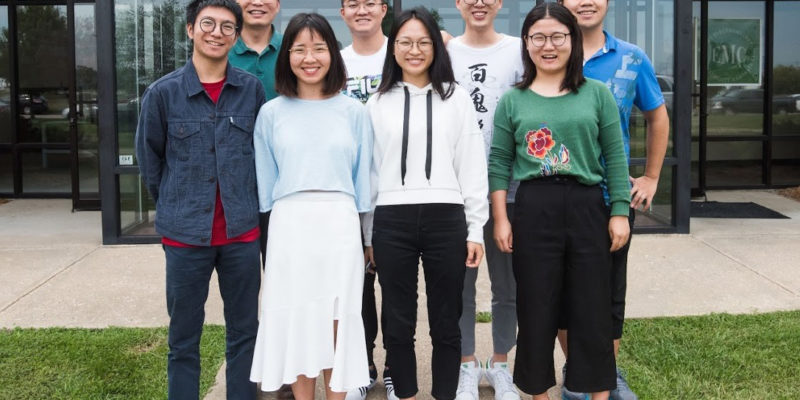 Fan hosts international student interns