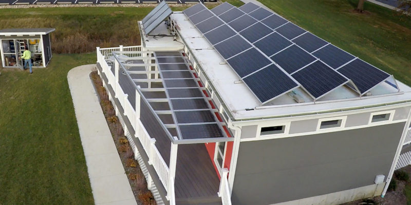 Ribbon-cutting ceremony on Nov. 9 celebrates new microgrids in S&T EcoVillage