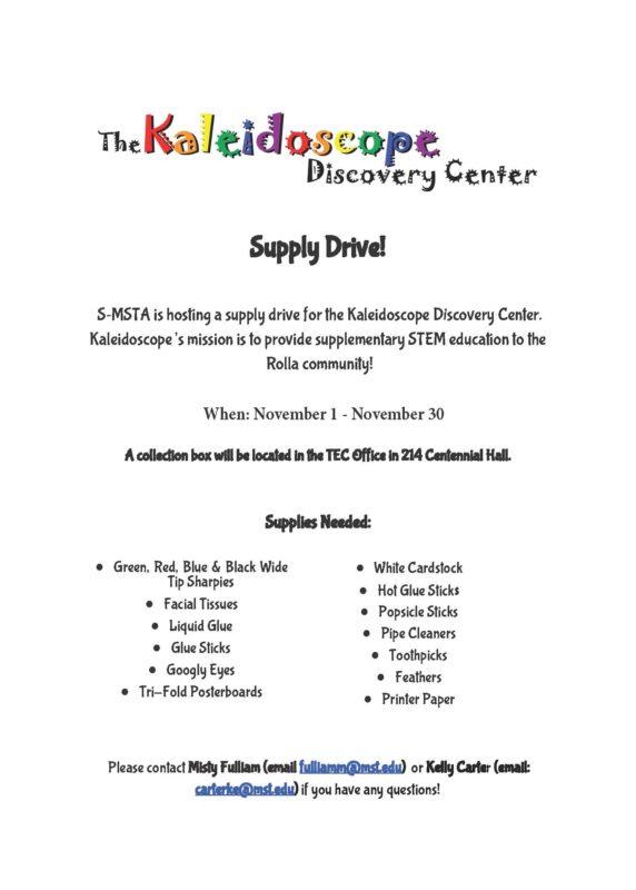 Missouri S&T – eConnection – Deadline extended for The Kaleidoscope
