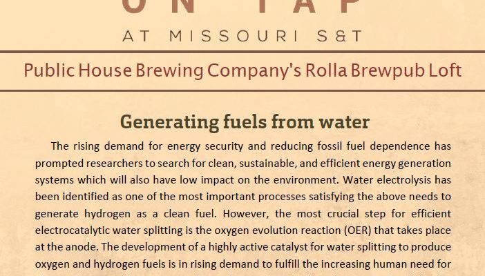 Research on Tap Nov. 14th