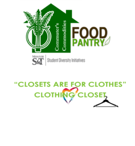 Food pantry, clothing closet graphic