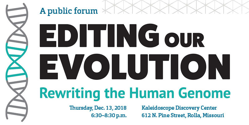 Join Thursday's discussion on gene editing