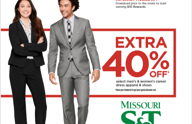 JCPenny spring suit up event