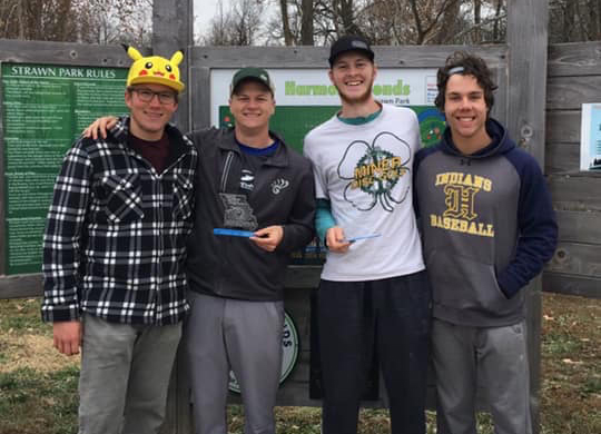 Disc golf club going to nationals