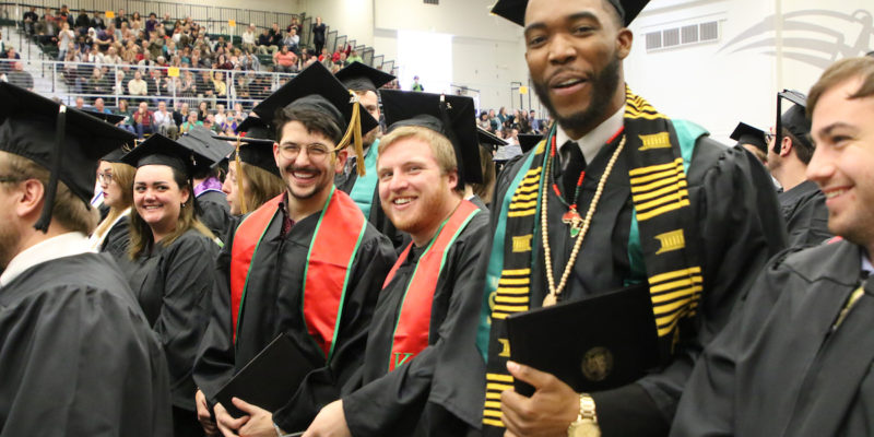 Commencement moves to three ceremonies, department schedule announced