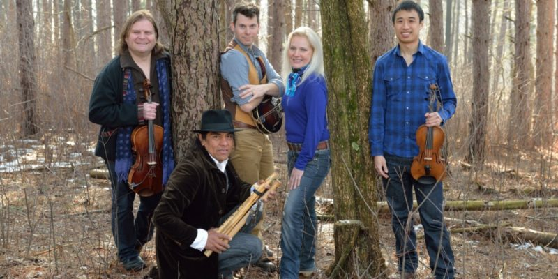 Student ticket sale: String quartet ETHEL with Robert Mirabal