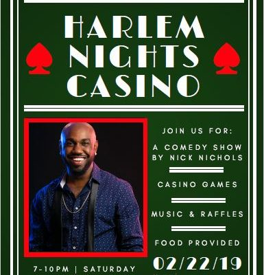 Harlem Nights Casino- Black History Month Celebration