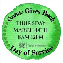 Volunteer with Gonzo Gives Back during St. Pats Break