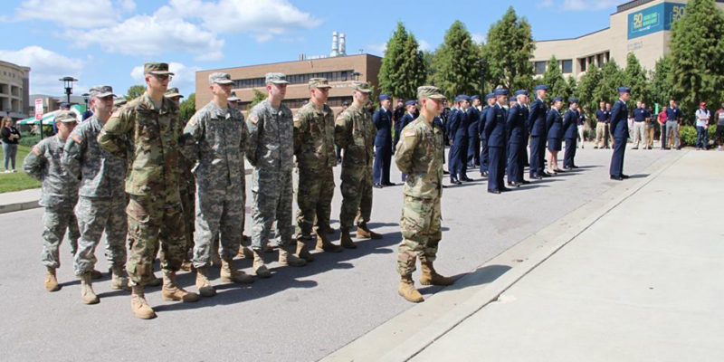 Air Force ROTC receives regional award
