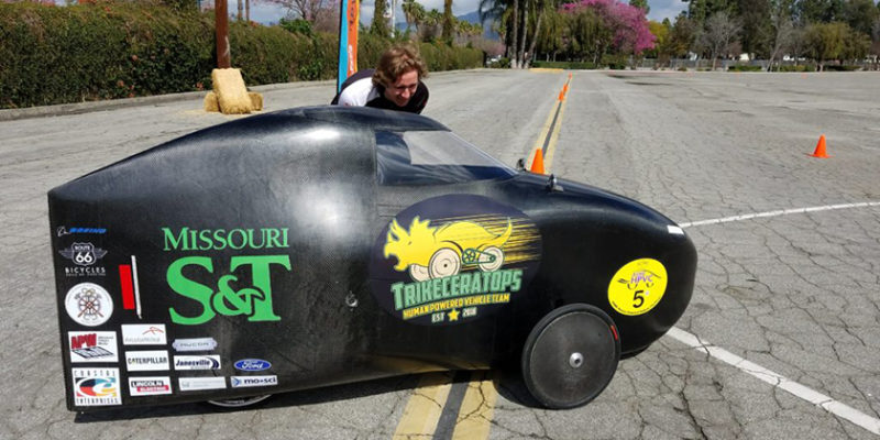 Human powered vehicle team heading to California for competition