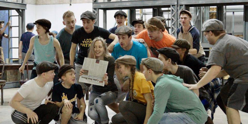 Extra, extra! See familiar faces in 'Newsies'